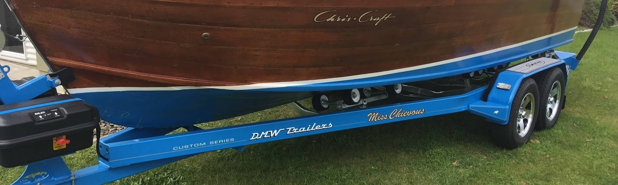 DMW Trailers Custom Chriscraft